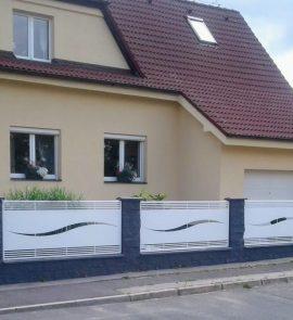 hliníkové ploty, hliníkový plot, alu plot, moderní hliníkové ploty