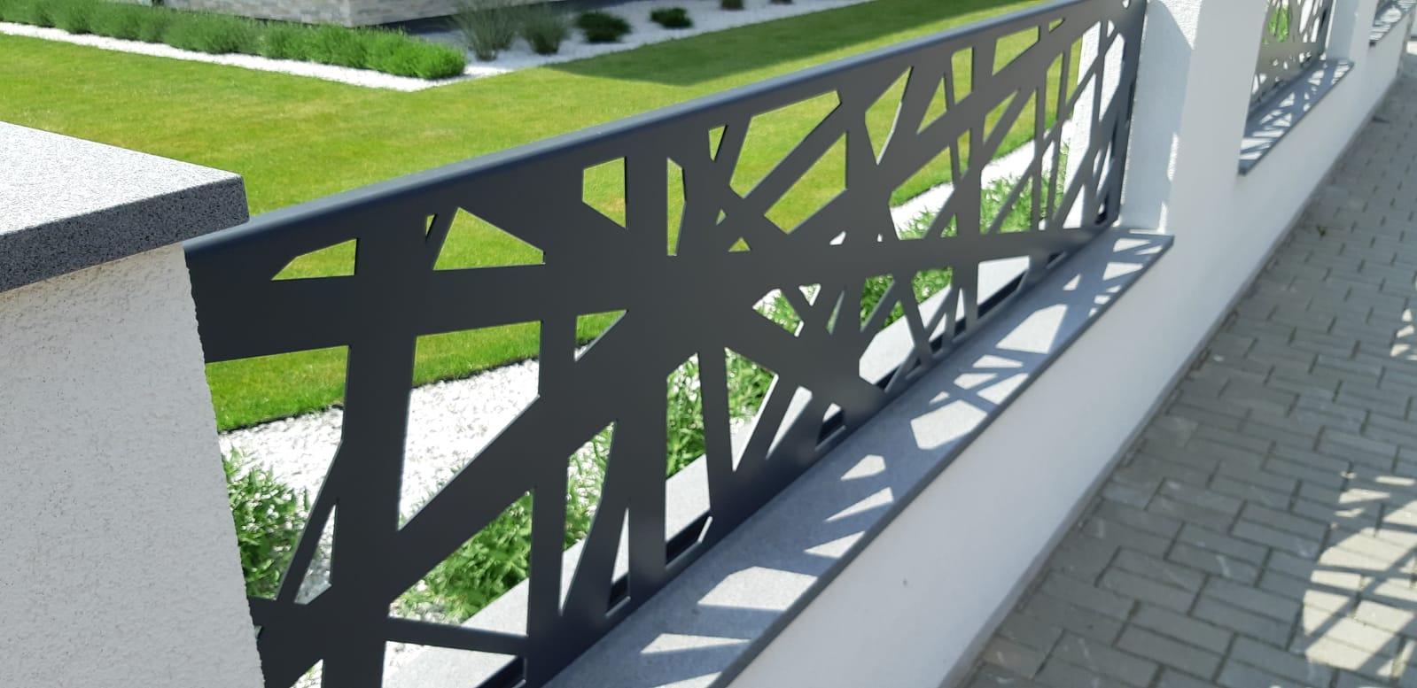 hliníkové ploty, hliníkový plot, moderní plot