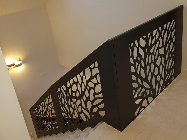 schodišťové zábradlí, zábradlí na schodiště, designové zábradlí