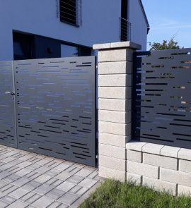 moderní hliníkové ploty, hliníkové ploty, ploty z hliníku, hliníkový plot