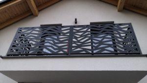 balkonové zábradlí, zábradlí na balkon, designové zábradlí
