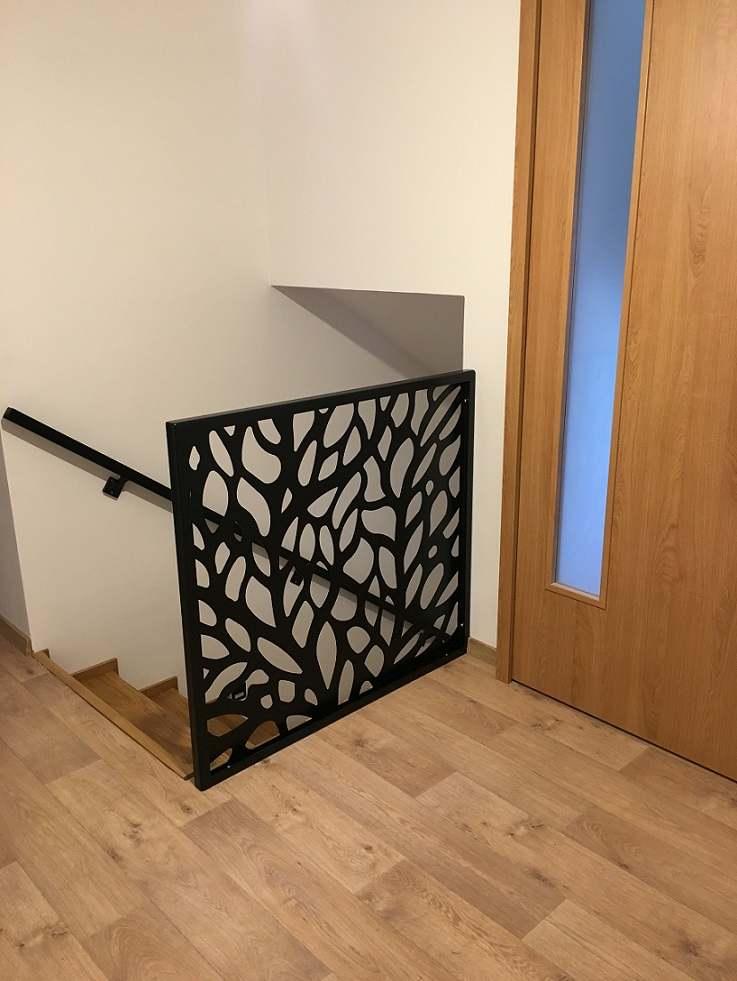 schodišťové zábradlí, zábradlí na schodiště