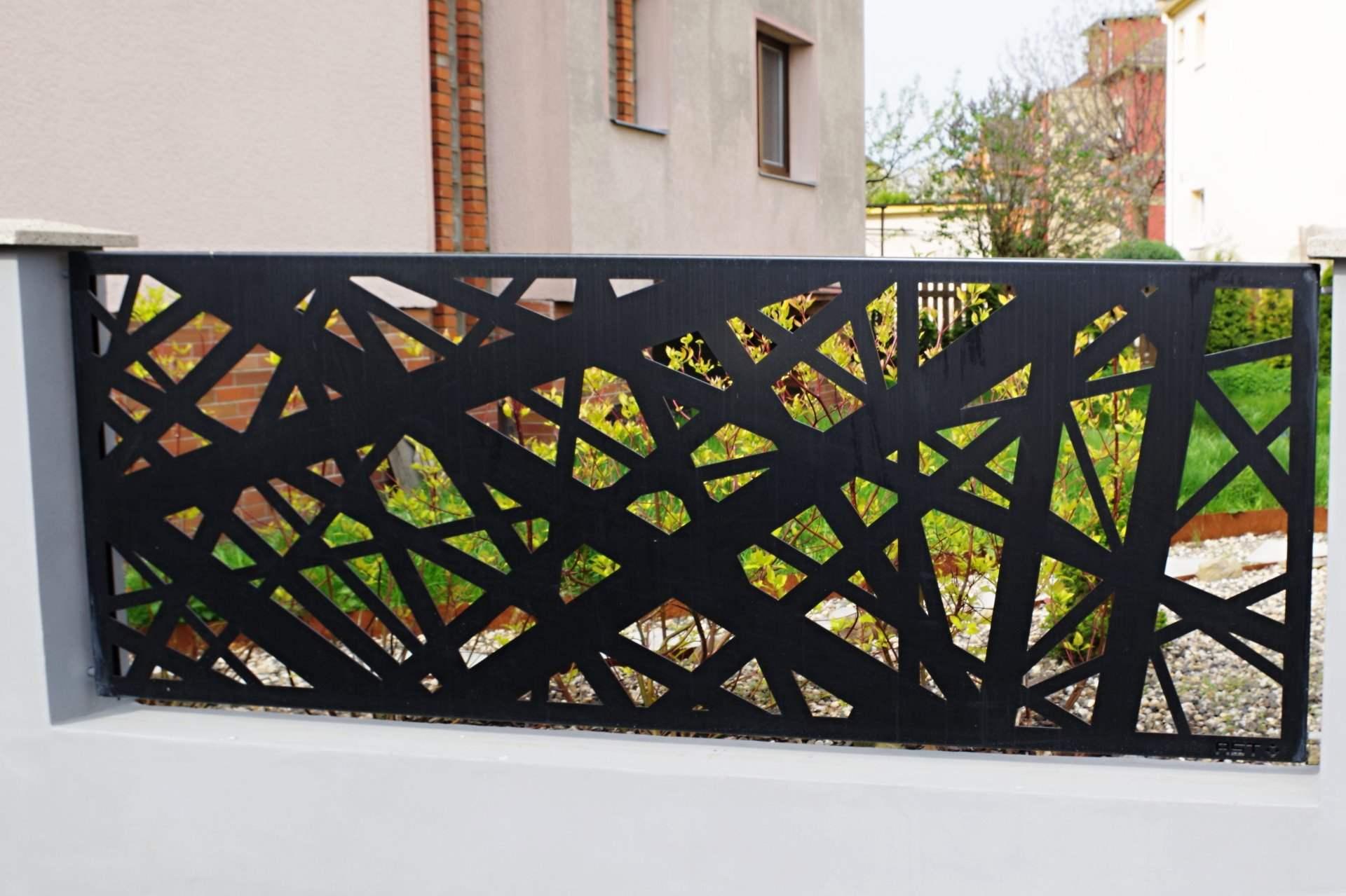 hliníkové ploty, hliníkový plot