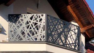 balkonové zábradlí, zábradlí na balkon