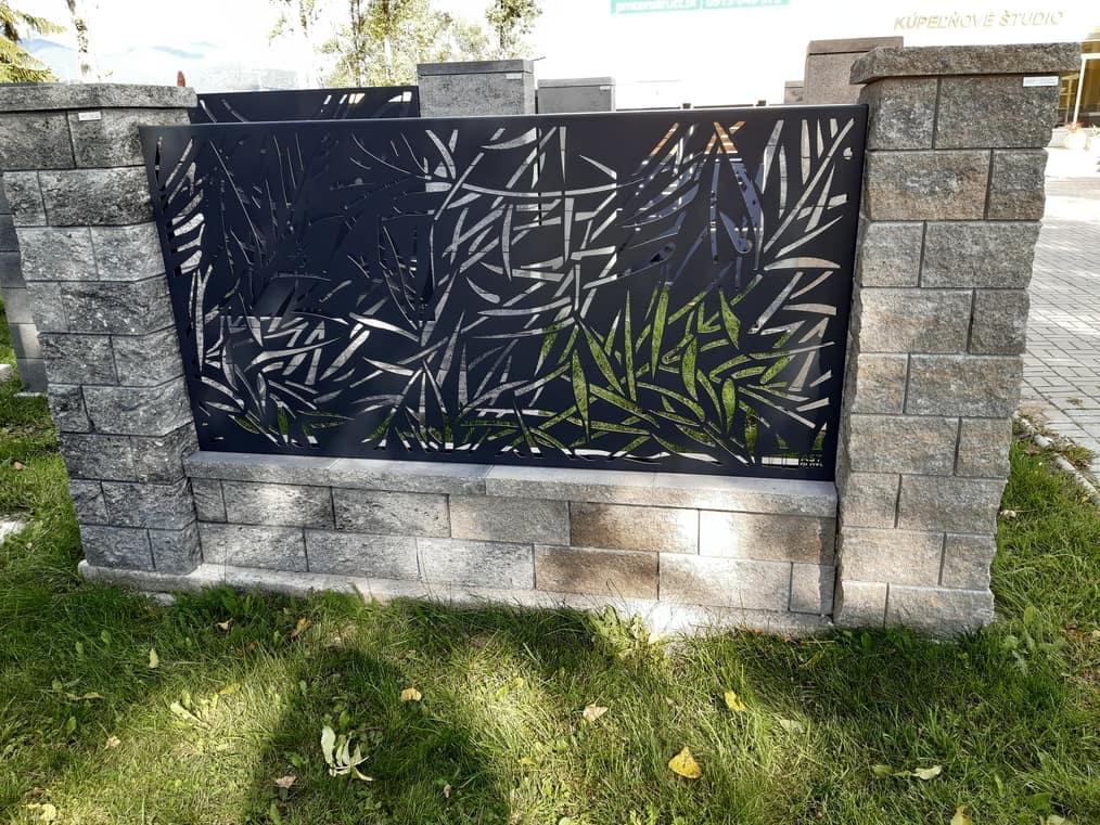 moderní hliníkové ploty